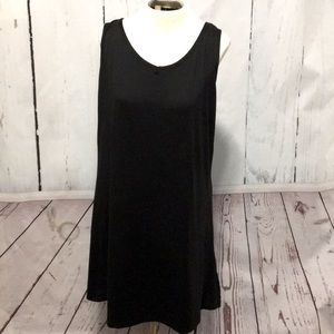 Angelina - Black Tank Dress